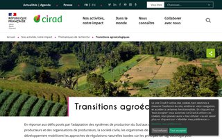 CIRAD - Agroecologie