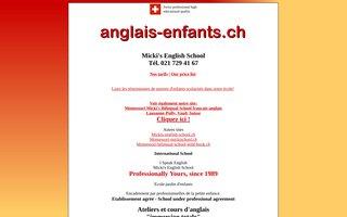 image du site http://anglais-enfants.ch