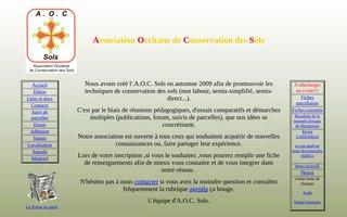 Association Occitane de Conservation des Sols