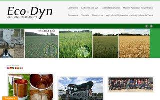 Eco-Dyn : Techniques et outils pour mieux cultiver la terre