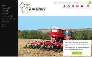 GUILBART CONSTRUCTEUR - Matériel de travail du sol à dents et à disques