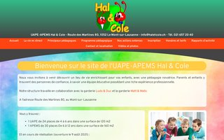 image du site http://www.haletcole.ch
