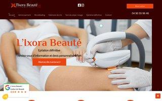 image du site http://www.ixora-beaute-salon-de-provence.fr/