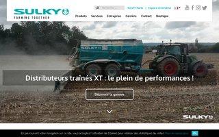 Sulky Burel : semoirs, distributeurs, épandeurs, fertilisation, herse rotative, semis