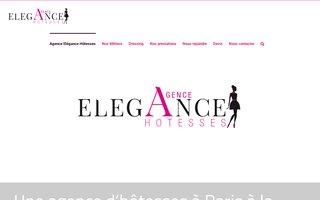 image du site https://elegance-hotesses.com/