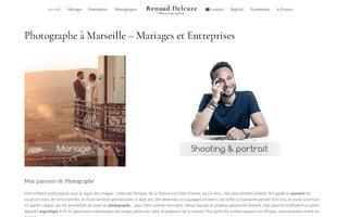 site de Renaud Delcuze photographe à Marseille