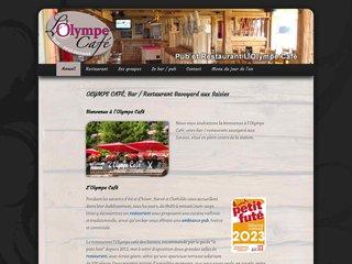 Réalisation du site web pour un bar restaurant