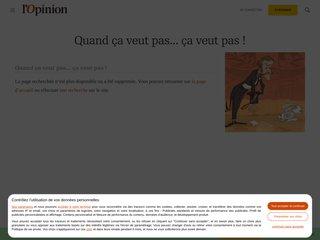 Article de l'Opinion - Mon métier Habilleur-Conseil