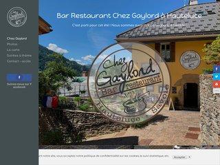 Création site internet pour un bar restaurant