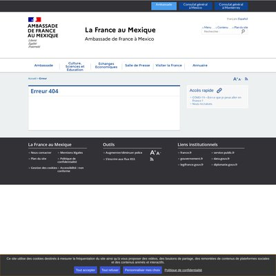 """""""Consulat Général de France à Mexico"""""""