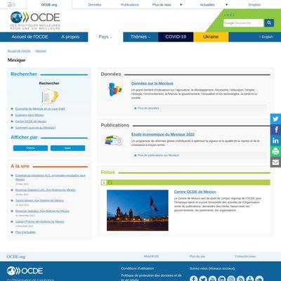 """""""OCDE - Mexique"""""""