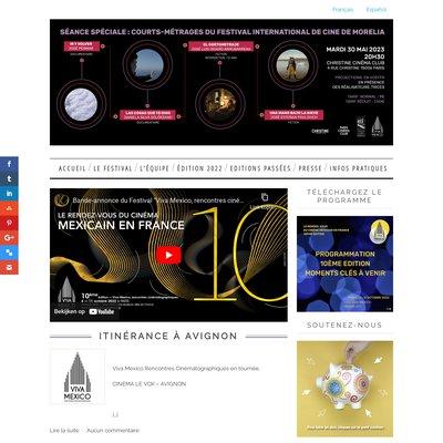 """""""Viva Mexico Rencontres Cinématographiques"""""""