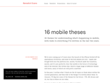 16 mobile theses