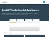 Les bonnes pratiques de la qualité Web