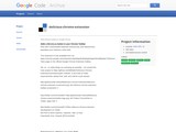 delicious-chrome-extension - Adds Delicious buttons to Google Chrome - Google Project Hosting