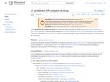 21 problèmes NP-complets de Karp