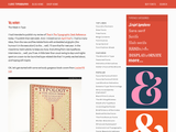 "I Love Typography "" Blog Archive Yes, we kern"