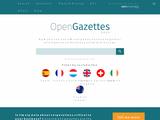 OpenGazettes