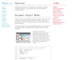Paper.js - Features