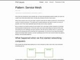 Pattern: Service Mesh