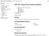 PEP 0404 -- Python 2.8 Un-release Schedule