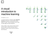 A Visual Introduction to Machine Learning