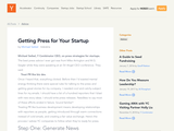 Getting Press for Your Startup