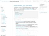 Python dans tous ses états