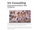 Scope and Ownership in Tech Companies