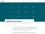 Building a Visual Language