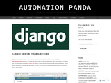 Django Admin Translations