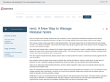 reno: A New Way to Manage Release Notes