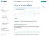 Universal functions (
