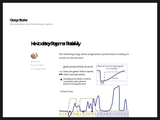 How to destroy Programmer Productivity