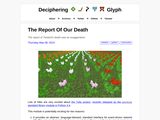 The Report Of Our Death