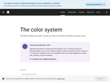 Color - Style - Material design guidelines