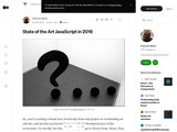 State of the Art JavaScript in 2016