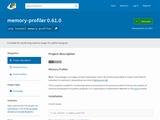 memory_profiler 0.45