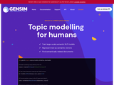Topic modelling for humans