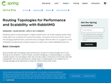 Routing Topologies for Performance and Scalability with RabbitMQ