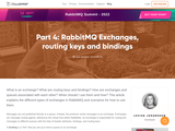 Part 4: RabbitMQ Exchanges, routing keys and bindings