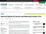Improved Options for Service Load Balancing in Docker 1.12.0