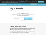 Big O Notation | Interview Cake