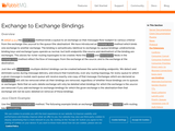 Exchange to Exchange Bindings