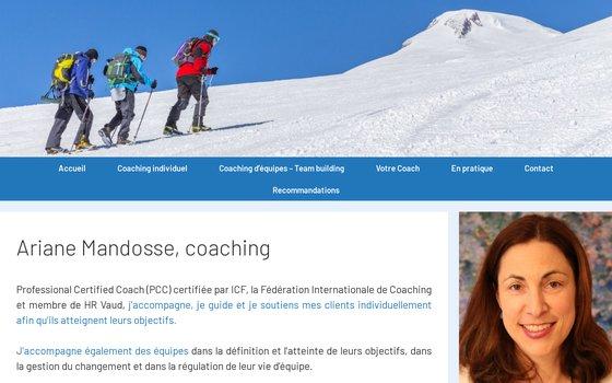 image du site http://www.arianemandosse.ch