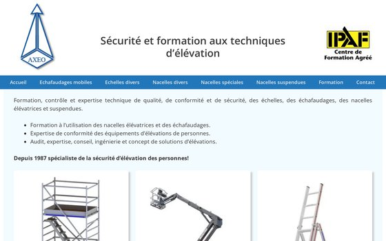 image du site http://www.axeo.ch