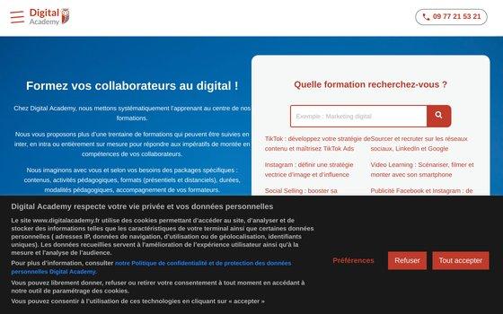 image du site http://www.digitalacademy.fr