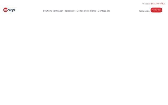 image du site https://www.ezsign.ca/fr/