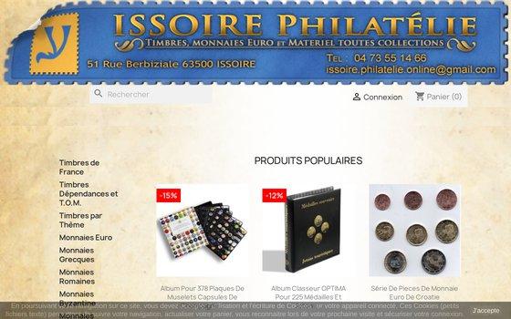 image du site https://www.issoire-philatelie.com