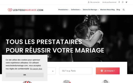 image du site https://www.lesitedumariage.com/
